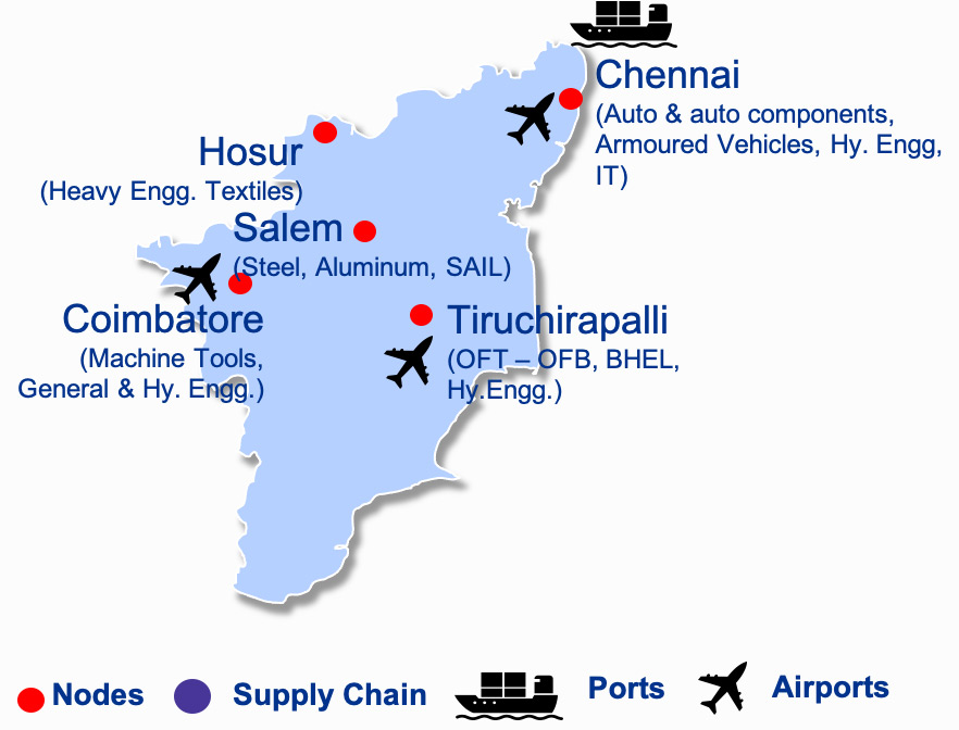 TANDICO – Tamilnadu Defence Industrial Corridor