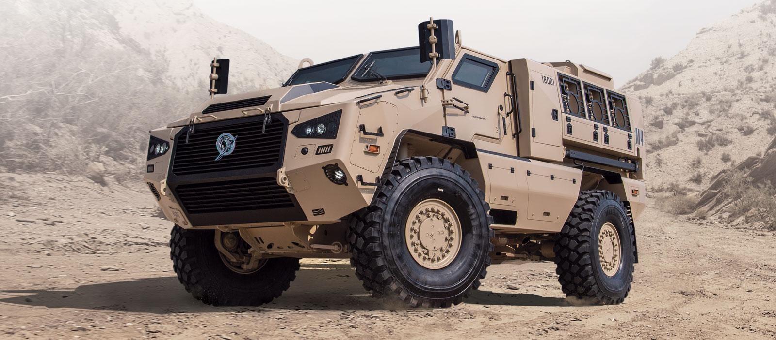Kalyani M4 — All Terrain MPV for Army
