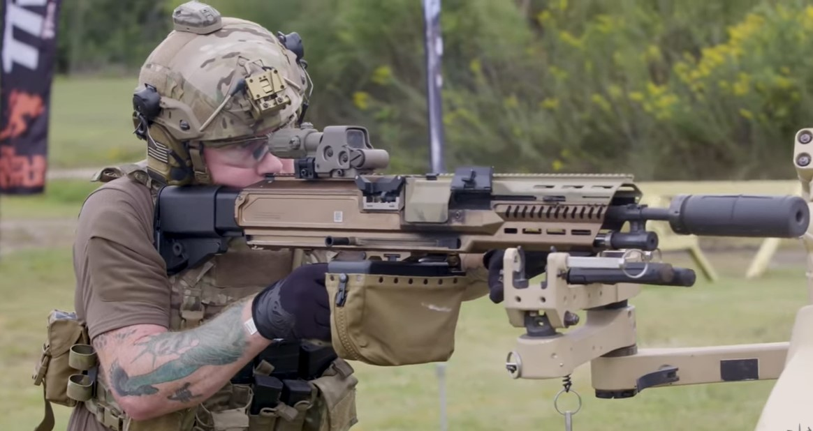 Textron's Cased Telescoped (CT) Ammunition for Next Generation Infantry Weapons