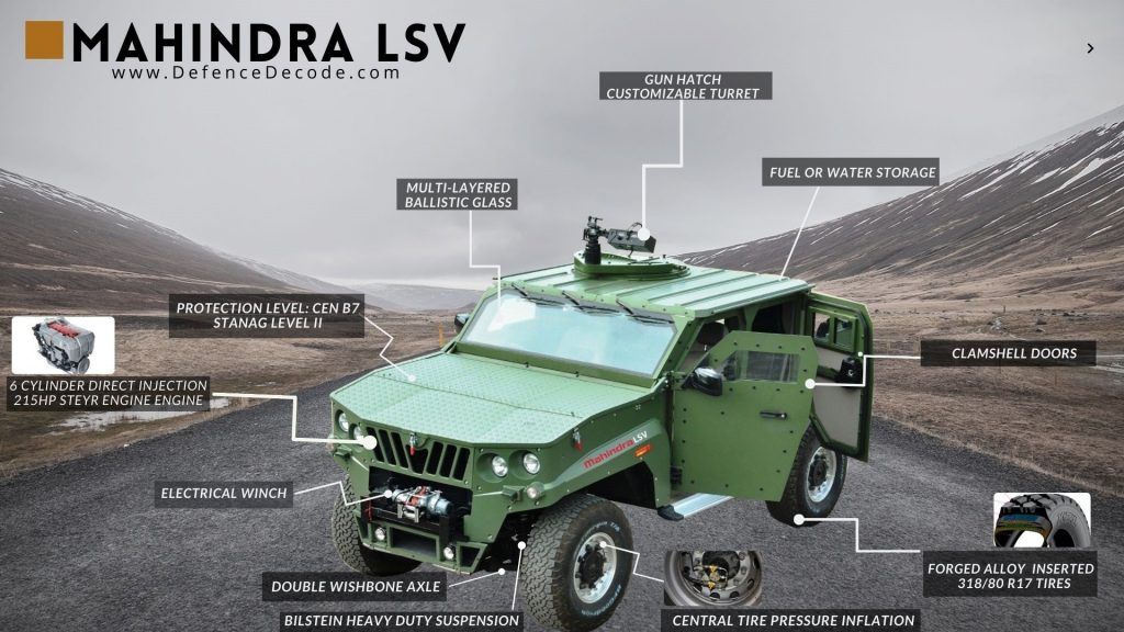 Mahindra ALSV Features and Capabilities