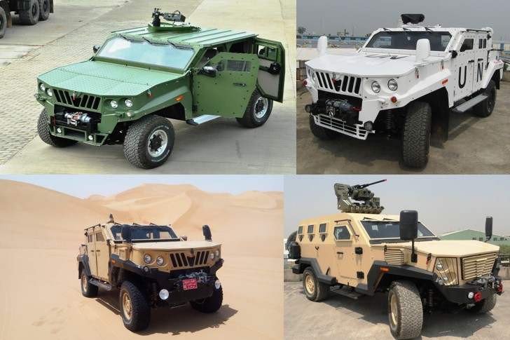 Family of Mahindra Tactical Specialist Vehicles