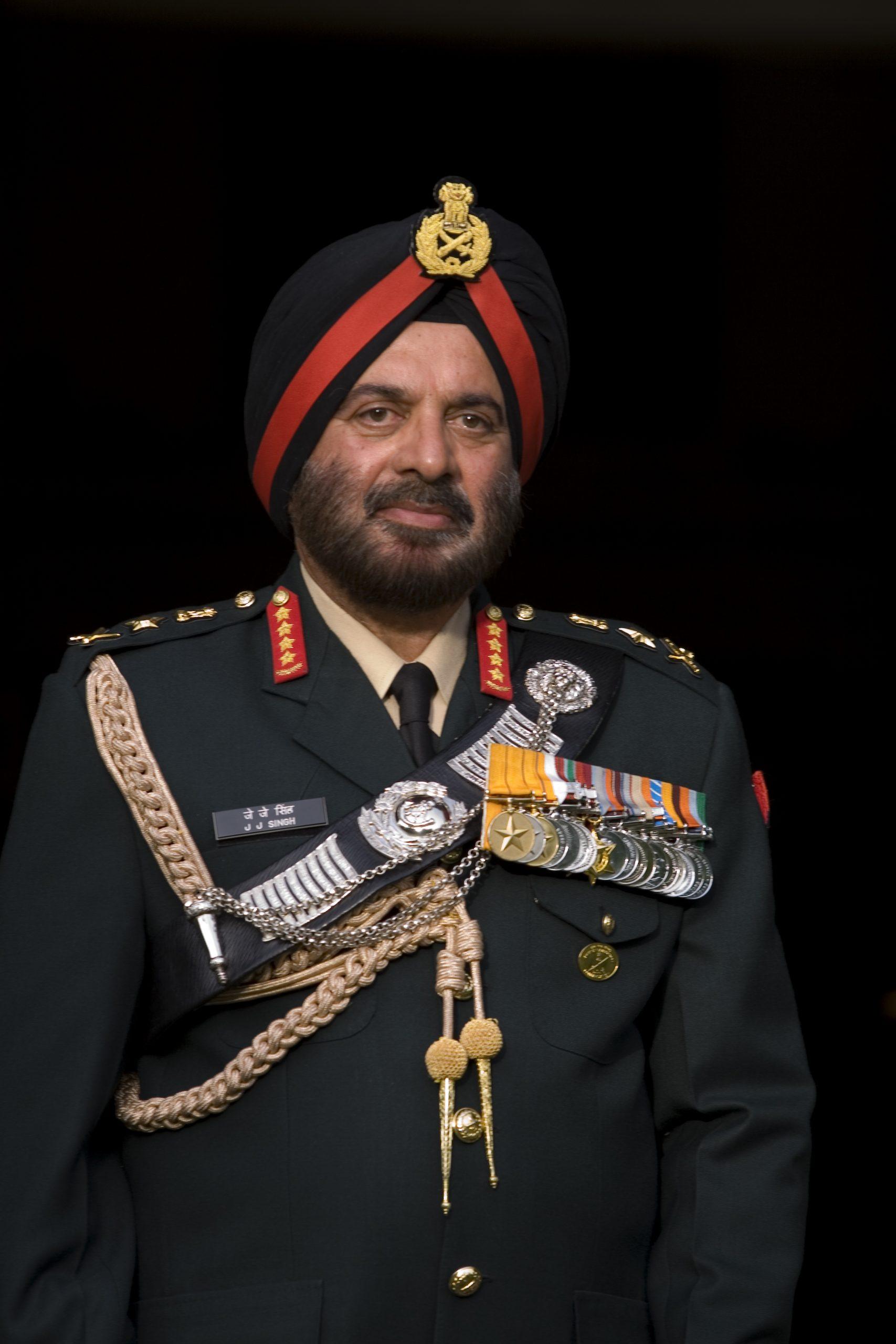 General JJ SINGH, PVSM, AVSM, VSM (RETD) Former Governor of Arunachal Pradesh and COAS Indian Army