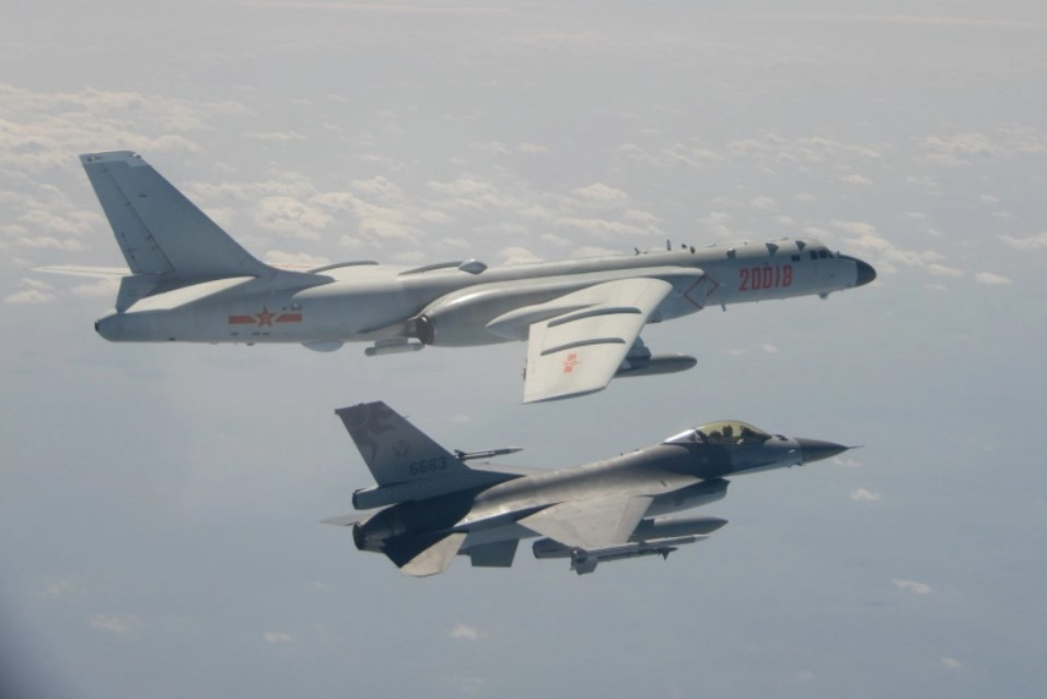 China launches record number of warplanes into Taiwan's airspace in the largest incursion show