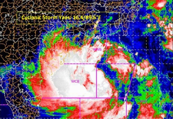 Cyclone Yaas expected to hit Odisha & West Bengal coast by May 26, likely to intensify into a Severe Cyclonic Storm in next 24 hours warns IMD