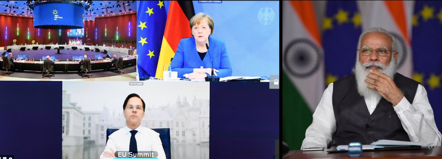India – EU Leaders Meet for first time in EU+27 format, Hosted by Prime Minister of Portugal