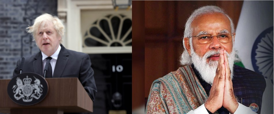 India – UK Virtual Summit: Leaders discuss Covid 19 and Bilateral Trade