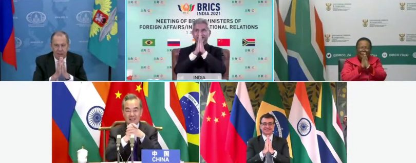 Meeting of BRICS Ministers of Foreign Affairs/International Relations