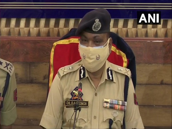 Police has details of foreign terrorists lying low in J-K, says DGP Dilbag Singh