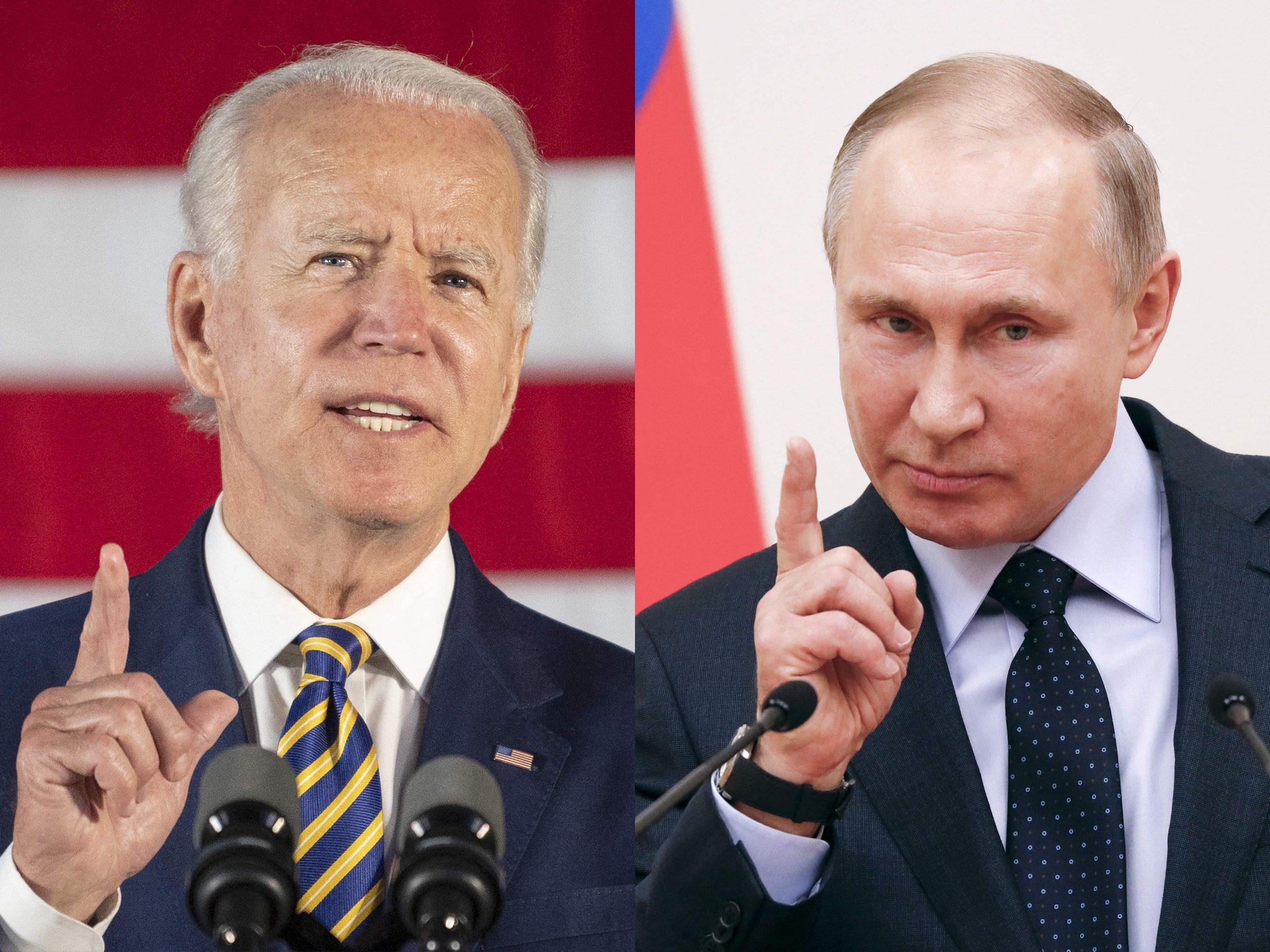 Putin, Biden likely to touch upon Navalny, Belarus: Kremlin