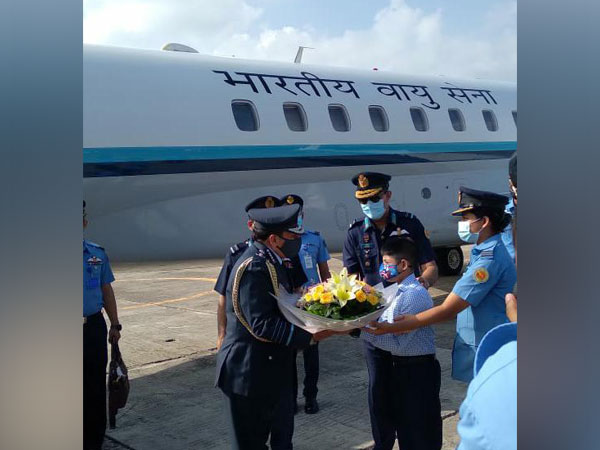 IAF Chief RKS Bhadauria arrives on a 3-day visit to Dhaka