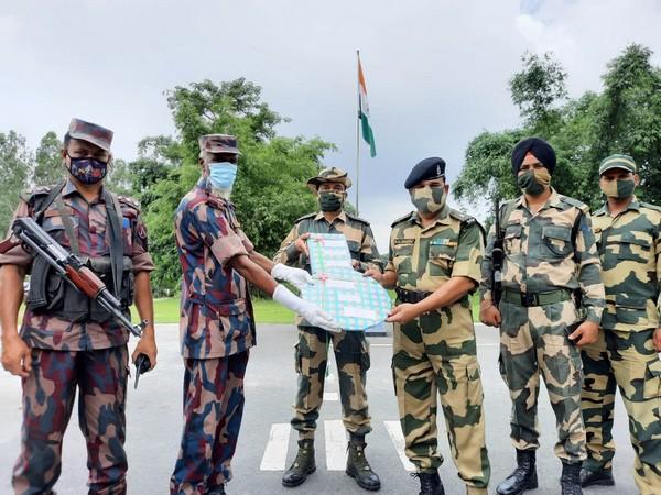 India-Bangladesh border forces exchange sweet, greet on Eid-al-Adha