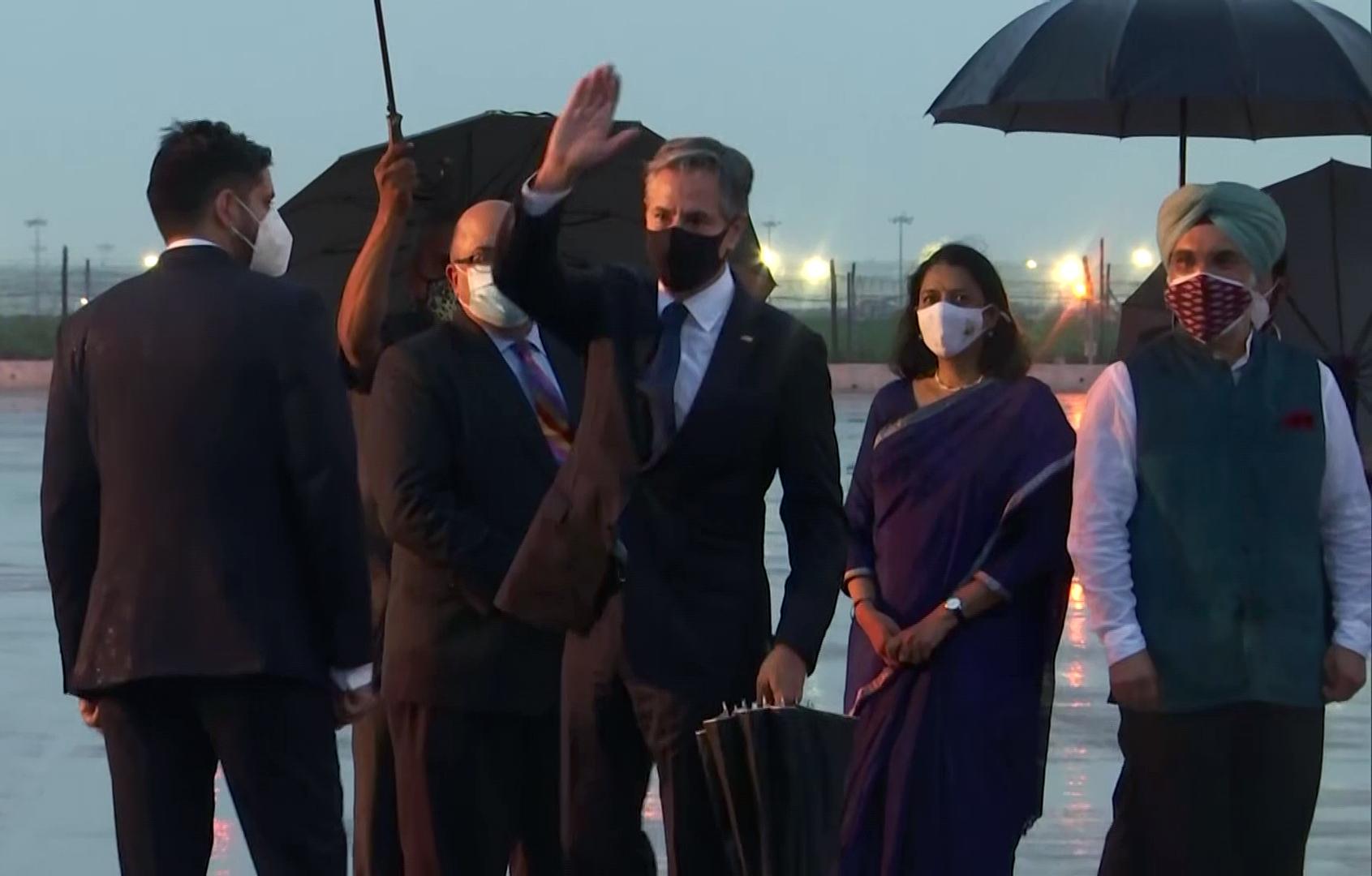 US State Secy Antony Blinken lands in New Delhi on two-day India visit
