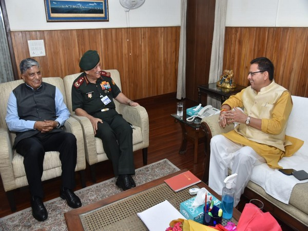 CDS Bipin Rawat, NTRO chief Dhasmana meet Uttarakhand CM Dhami to discuss development of border areas