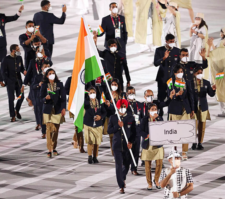 Tokyo Olympics: Mary Kom, Manpreet lead India's charge in Parade of Nations during Opening Ceremony