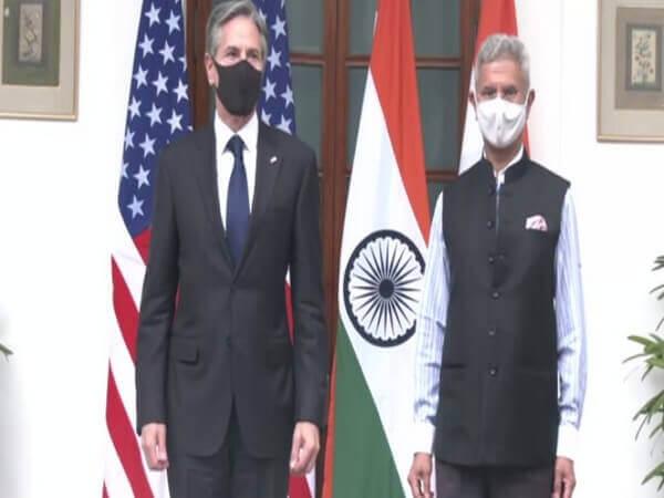 Blinken meets EAM Jaishankar on his maiden India visit