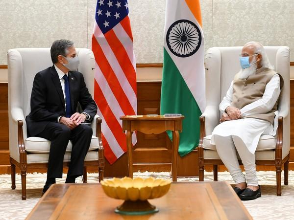 PM Modi meets Blinken, welcomes President Biden's strong commitment to strengthening India-US Strategic Partnership
