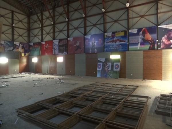 Indoor stadium being constructed in J-K's Budgam to encourage sporting activities