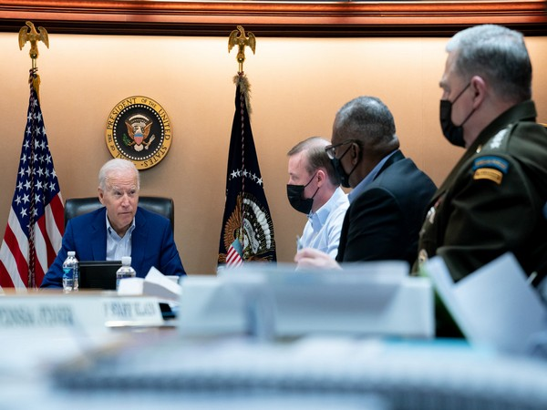 Biden meets national security team to discuss situation in Afghanistan