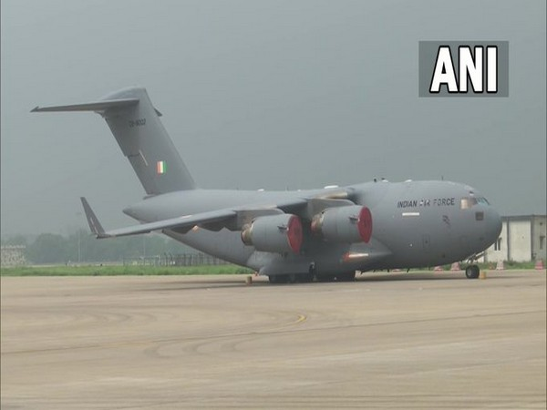 Repatriation flight from Kabul with 168 evacuees lands at Hindon IAF base