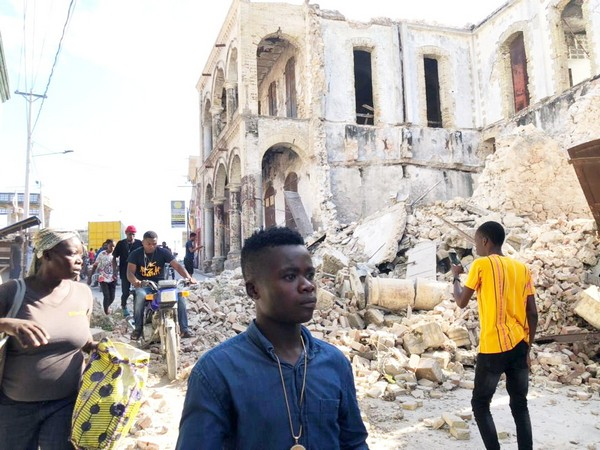 Death toll from earthquake in Haiti rises to 2,207