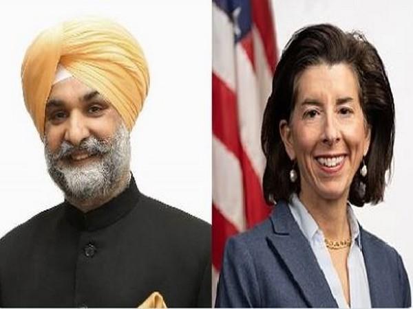Commerce Secretary Raimondo discusses US-India commercial relationship with Indian envoy Sandhu