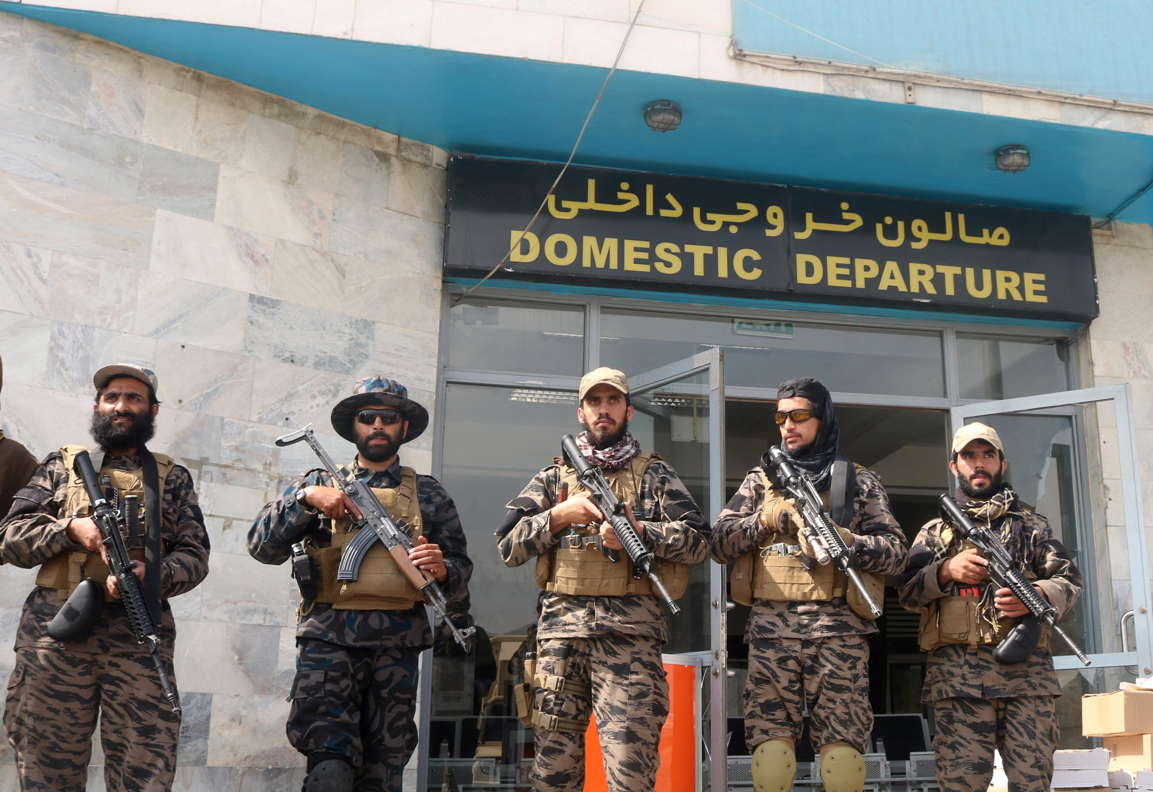 Taliban special forces guarding Kabul Airport, commercial flights yet to resume