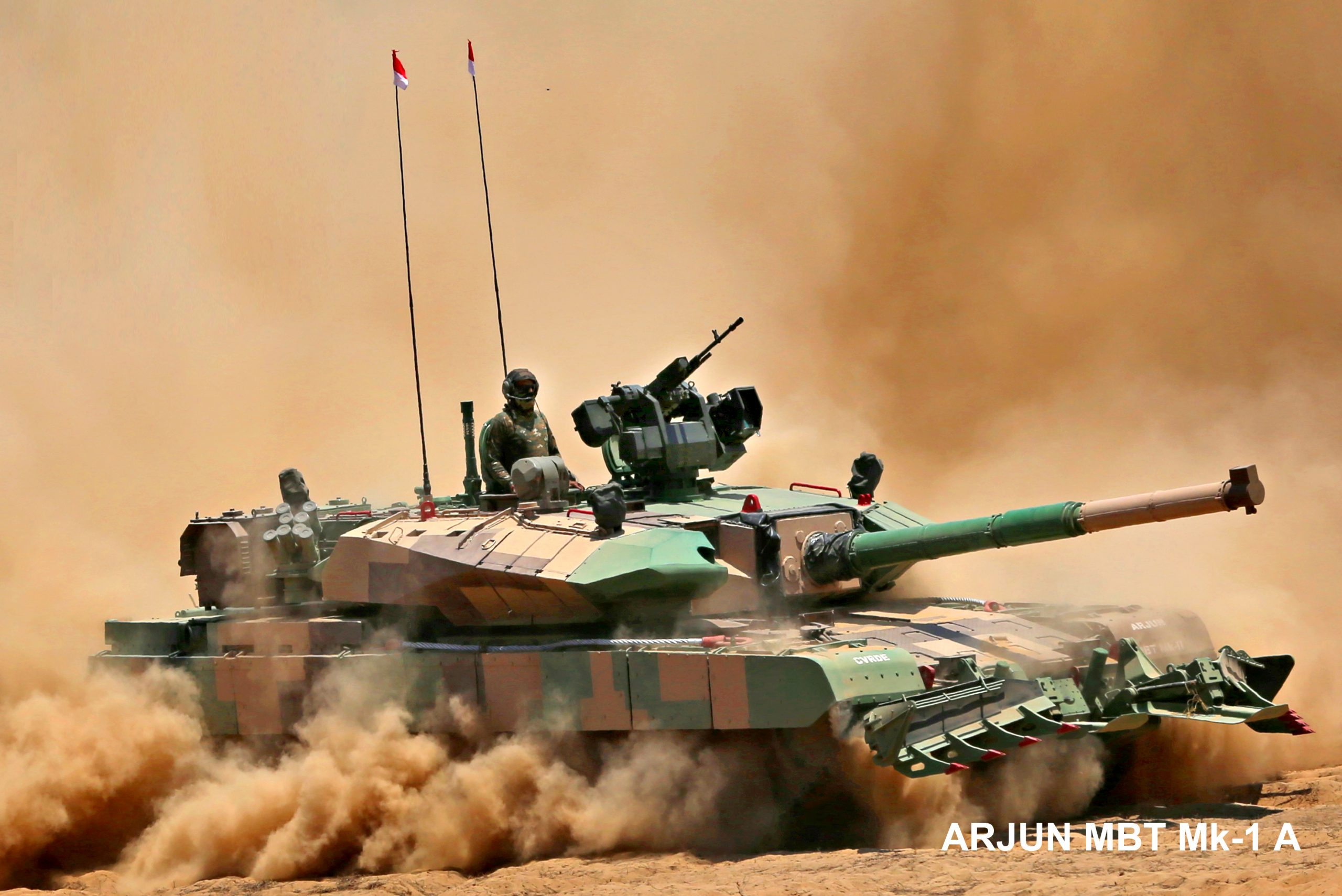 MoD places supply order for 118 Main Battle Tanks Arjun Mk-1A for Indian Army with HVF, Avadi
