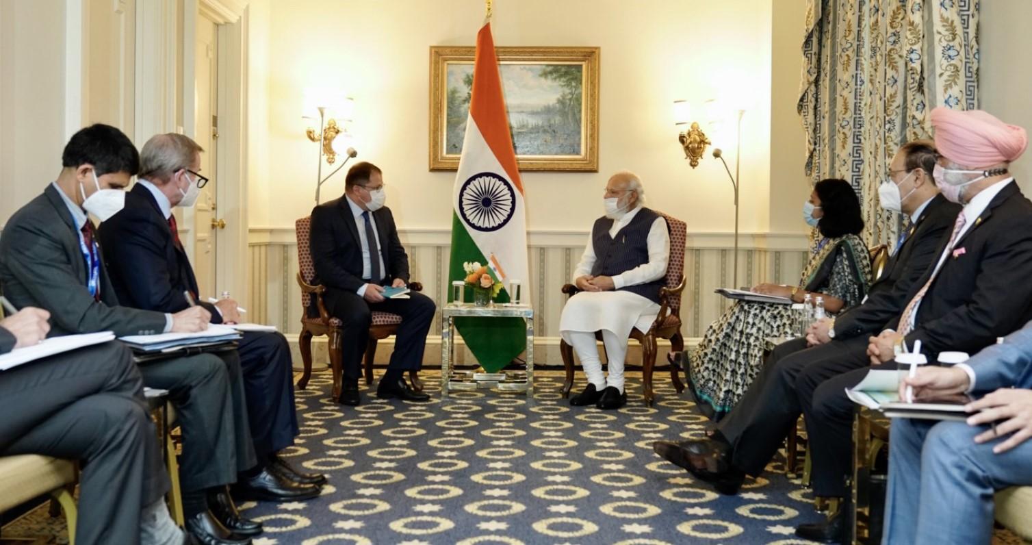 PM Modi meets CEOs of major US MNCs