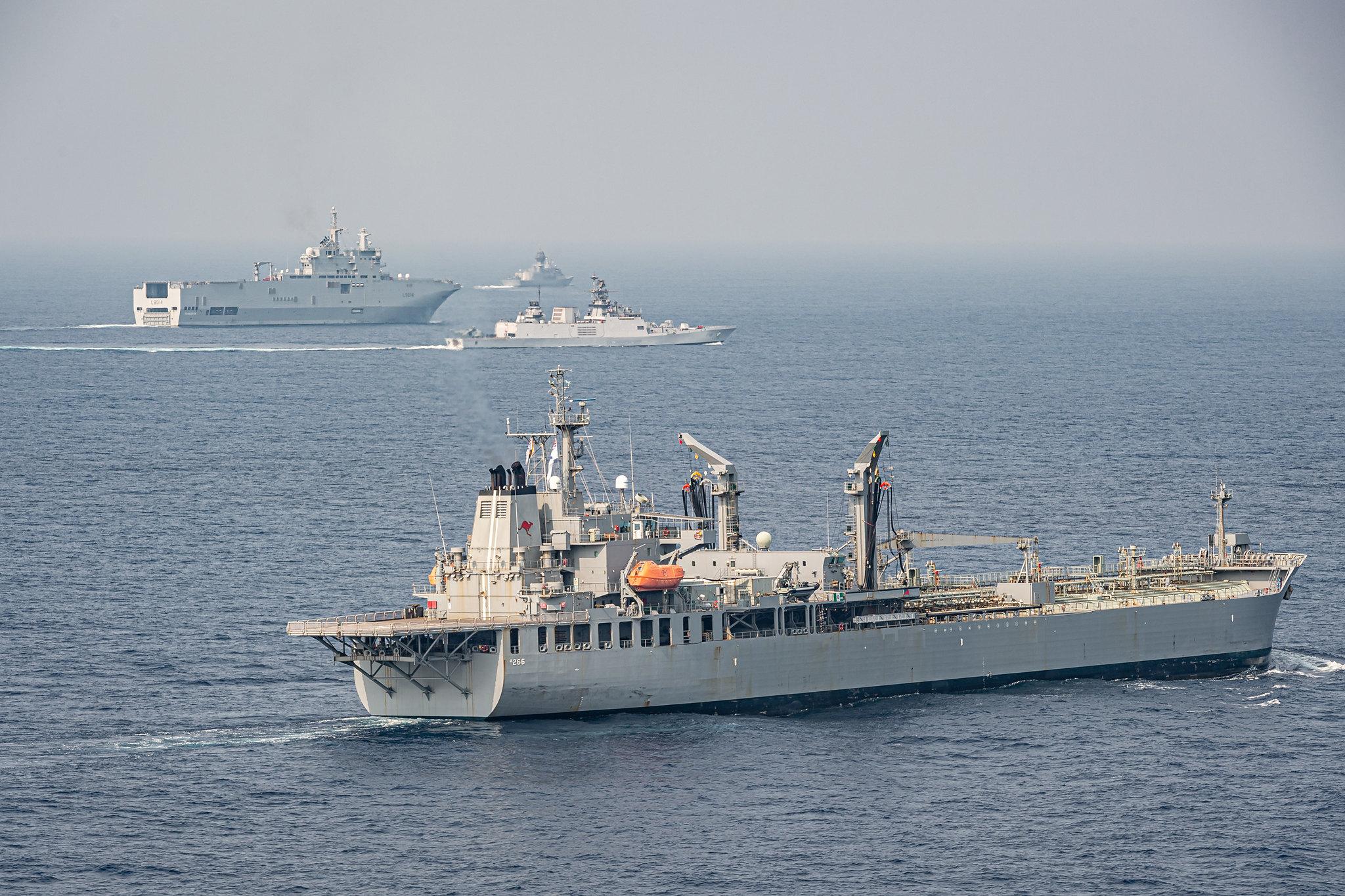 चीनी टैंकरों को सुरक्षित रखना क्वाड का काम नहीं है!
