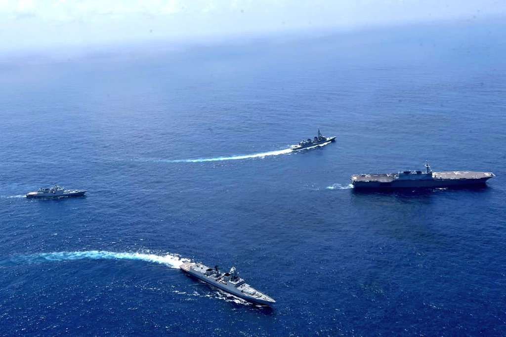 Fifth Edition of Japan – India Bilateral Maritime Exercise 'JIMEX'