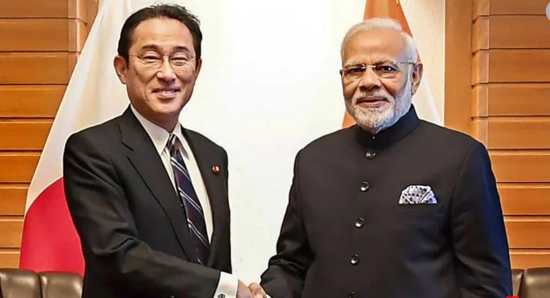 Prime Minister Shri Narendra Modi speaks on telephone with H. E. Fumio Kishida, Prime Minister of Japan