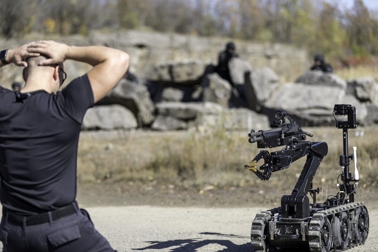 Robotic Weapons – A Moral Dilemma