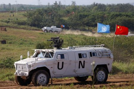 China shows off defence diplomacy with multinational peacekeeping drill