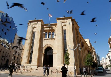 Lebanon government wins confidence vote as parliament hit by power cut