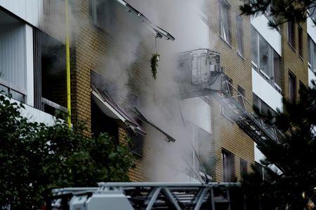 Explosion hits building in Sweden's Gothenburg, 25 in hospital – radio