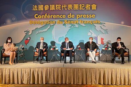 Call Taiwan a country, French senator says, angering China