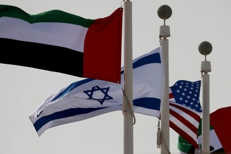 U.S. hopes Abraham Accords will help Israeli-Palestinian issue – officials