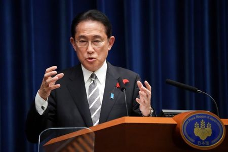 Japan's PM Kishida and S.Korea's Moon discuss lingering wartime disputes