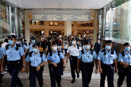 Court rulings free Hong Kong police to probe older offences under security law