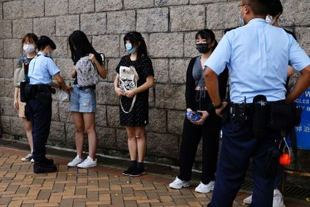 U.S. says it is concerned by 'erosion of human rights' in Hong Kong