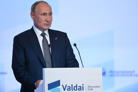 Putin says Afghanistan's financial assets should be unfrozen