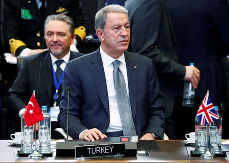 Turkish defence minister warns against alliances that harm NATO