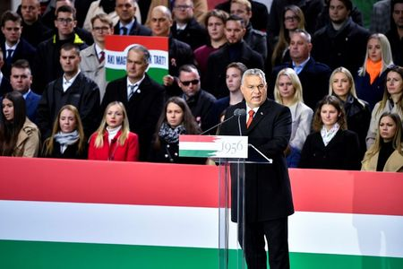Hungary's Orban accuses Brussels, Washington of meddling as 2022 election race heats up