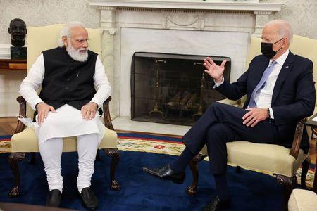 U.S. senators urge Biden to avoid India sanctions over Russian deal